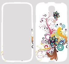 Samsung Galaxy S4 I9500 I9505 Teléfono Móvil estampado floral agua funda