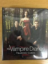 Vampire Diaries Season 2 Official Cryptozoic Binder