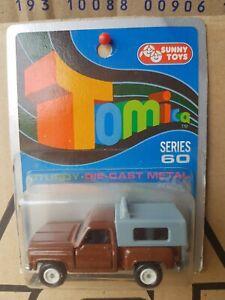 Tomica - CHEVROLET TRUCK [BROWN] MINT VHTF AUSTRALIA BLISTER CARD