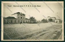 Bari Trani Stazione cartolina QQ4624