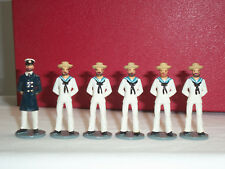 SARUM BRITISH ROYAL NAVY SENNET HATS METAL TOY SOLDIER FIGURE SET