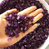 50g Natural Amethyst Raw Polish Gravel Crystal Degaussing Stone Specimen Healing