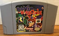 Banjo Kazooie Nintendo 64 N64 Game Cartridge Cleaned Tested Excellent