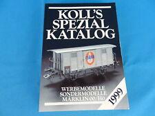 KOLL's SPEZIAL Katalog Märklin OO/HO 1999 D.