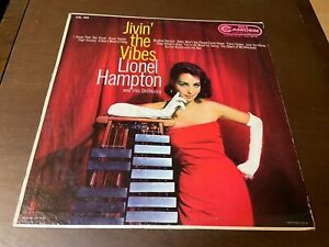Lionel Hampton~Jivin' the Vibes~Jazz Swing Ragtime Cheesecake LP~Johnny Hodges