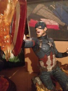 Marvel - Milestones - Statue Captain America Civil War - Diamond Select