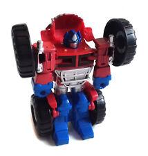 "Transformers RID 8"" facile Transformer Optimus Prime Monster Truck Toy Figure, cool!"