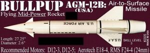 The Launch Pad Plan Pack Series BULLPUP AGM 12-B (USA) FREE SHIPPING