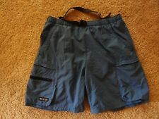 Columbia Blue Snake River II Water Shorts Men's Size Small Bathing Swim Trunks