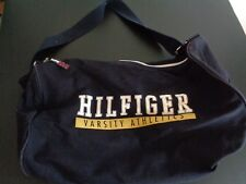 Vintage 90's TOMMY HILFIGER Varsity Athletics 21 x 13 Duffle Duffel Bag FreeShip