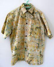 Chemise ethnique pour homme en batik 100 % coton de Bali Indonésie Taille L N°3