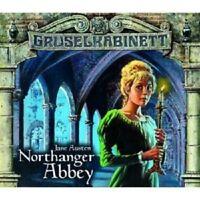 GRUSELKABINETT 40 & 41 - NORTHANGER ABBEY TEIL 1+2 2 CD NEU