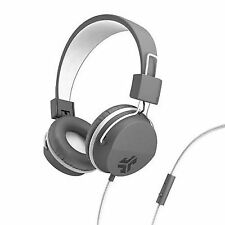 JLab JBuddies Studio Folding Over-ear Headphones for Kids Gray/white