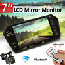 "7"" TFT LCD Car Monitor Mp4 Player TV/DVD/VCD Night Vision Bluetooth  Camera  USB"