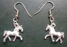 Ohrringe Pferde Ohrhänger Earring Horse Reiter Western