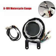 Motorcycle Odometer Speedometer Tachometer Gauge Universal km/mph LCD Digital h