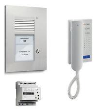 TCS Türsprechanlage Set 1 Wohneinheit 2-Draht Sprechanlage PSU2110-0000 UP