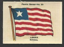 More details for ardath - flags 4th series (silk) - #20 liberia, national