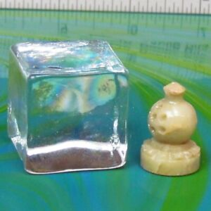 """Replacement Stone Chess Pieces for 7"""" Sq. Board Hand Carved Mexico Bishop"""