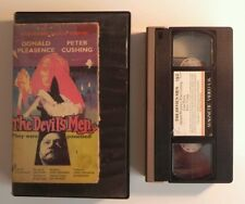 The Devils Men - Peter Cushing - Horror - V. Early Magnetic Video - Pre Cert VHS