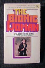 1976 THE BIONIC WOMAN by Eileen Lottman VG 4.0 Berkley Medallion Paperback