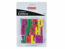 MULTI COLOURED MAGNETIC A - Z LETTERS FRIDGE MAGNETS