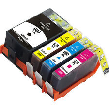 920XL Printer Ink for HP 920 HP920 Use in Officejet 6000 6500 7000 7500 E910 4PK