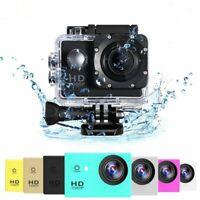 Full HD 1080P Waterproof Camera 2.0 Inch Camcorder Sports DV Go Car Cam