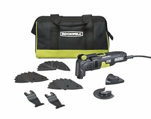 Rockwell RK5132K 3.5 Amp Sonicrafter F30 Oscillating Multi-Tool Kit with Blades