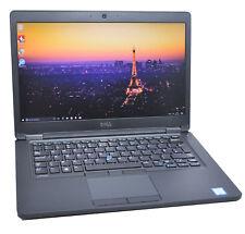 Dell Latitude E5480 IPS Laptop: Core i7-7600U (upto 3.9Ghz), 256GB SSD, 16GB RAM