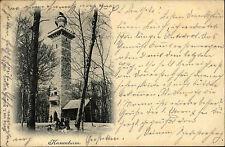 1899 Stempel Untertürkheim auf AK Kernenturm Partie Verlag Schaller Stuttgart