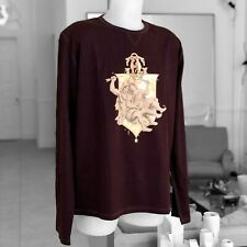ac92718d2e27 GAULTIER 2 by Jean Paul Gaultier long sleeve t-shirt w/ gold-tone