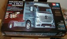 TAMIYA 1/14 MERCEDES BENZ ACTROS 1851 BLACK SEMI TRACTOR TRUCK KIT RC ITEM 56342