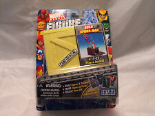 MARVEL FIGURE FACTORY SERIES 1 SPIDER MAN (NO CARDS)