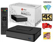 Mag 351 Set Top Box IPTV Linux 4K UHD HEVC - In-built Wifi and Bluetooth