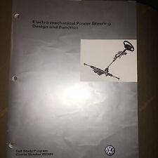 VW Manual 892403 Volkswagen- Electro Mechanical Power Steering- Service Training