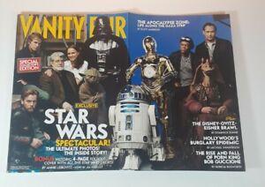 Star Wars Vanity Fair Magazine February 2005 Foldout Cover Natalie Portman Yoda