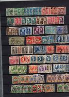 230 Timbres Algérie avant indépendance par multiples