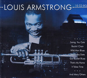 Louis Armstrong - 15 CD Box