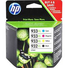 HP 932XL & 933XL Set of 4 (Multi Pack) OEM Original Inkjet Cartridges Officejet