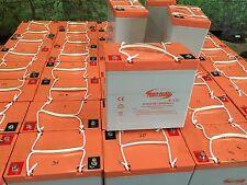 Battery 12V 55AH Perfect For Solar Panels Camping Fishing Boat Car Caravan