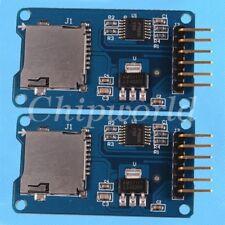 2Pcs Micro SD Storage Board TF Card Memory Shield Module SPI For Arduino Mega