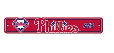 Philadelphia Phillies  Street Sign