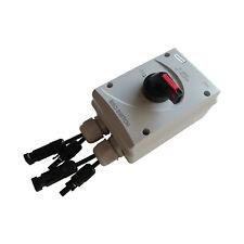 SISO-40 MC4 PV Switch / DC-Trennschalter / PV Schalter 4-polig 32A 1000V IP66