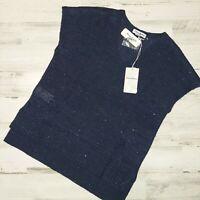 Tommy Bahama Sz M Solana Sequin Short Sleeve Sweater TW420060 Women's MSRP $125