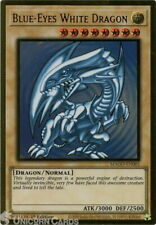 MAGO-EN001 Blue-Eyes White Dragon Premium Gold Rare 1st Edition Mint YuGiOh Card