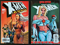Lot of 2 Uncanny X-Men Annual #1 & 2 2006-2009 See Listing *NM*