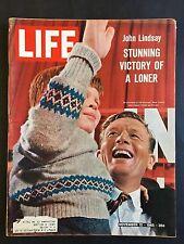 Life Magazine November 12 1965  New York Mayor John Lindsay