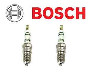 Fits Escort Mustang Eagle Medallion Set of 2 Spark Plugs Bosch Super Plus HR7DCF