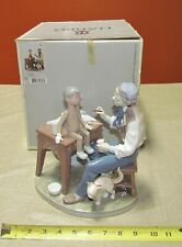 "Fabulous Lladro #5396 "" The Puppet Painter "" Retired w/ Original Box- Excellent"